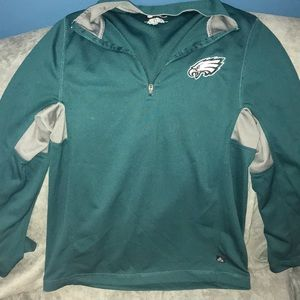 Tops - EAGLES zip-up